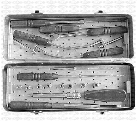 Anterior Cervical (Z)-plate Instrument Set