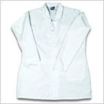 BodyGuard Lab Coat with velcro collar and cuff