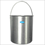 Bucket with handle for Autoclave