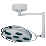 Ceiling Mounted Surgical Operating Lamp