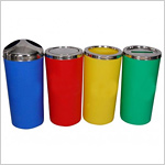 Colour Coded Plastic Dustbin 60L