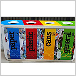 Colour Coded Recycle Bin Quattro