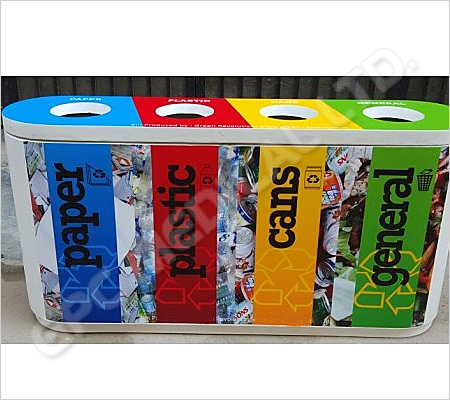 Colour Coded Recycle Bin Quattro