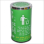 Colour Coding Recycle bins