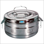 Dressing Drums, Stainless Steel