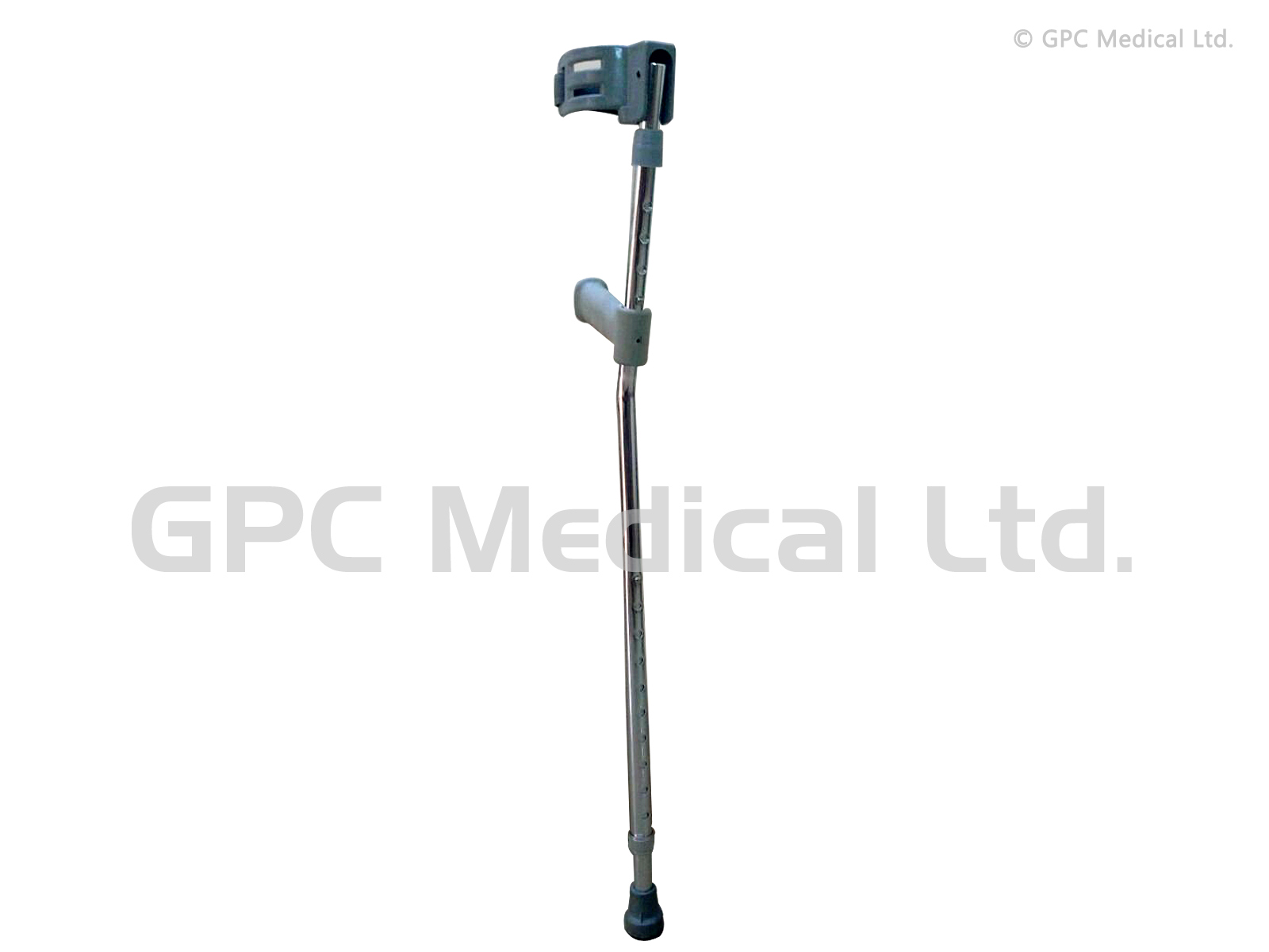 Elbow Crutch Double Adjustable (Aluminium)