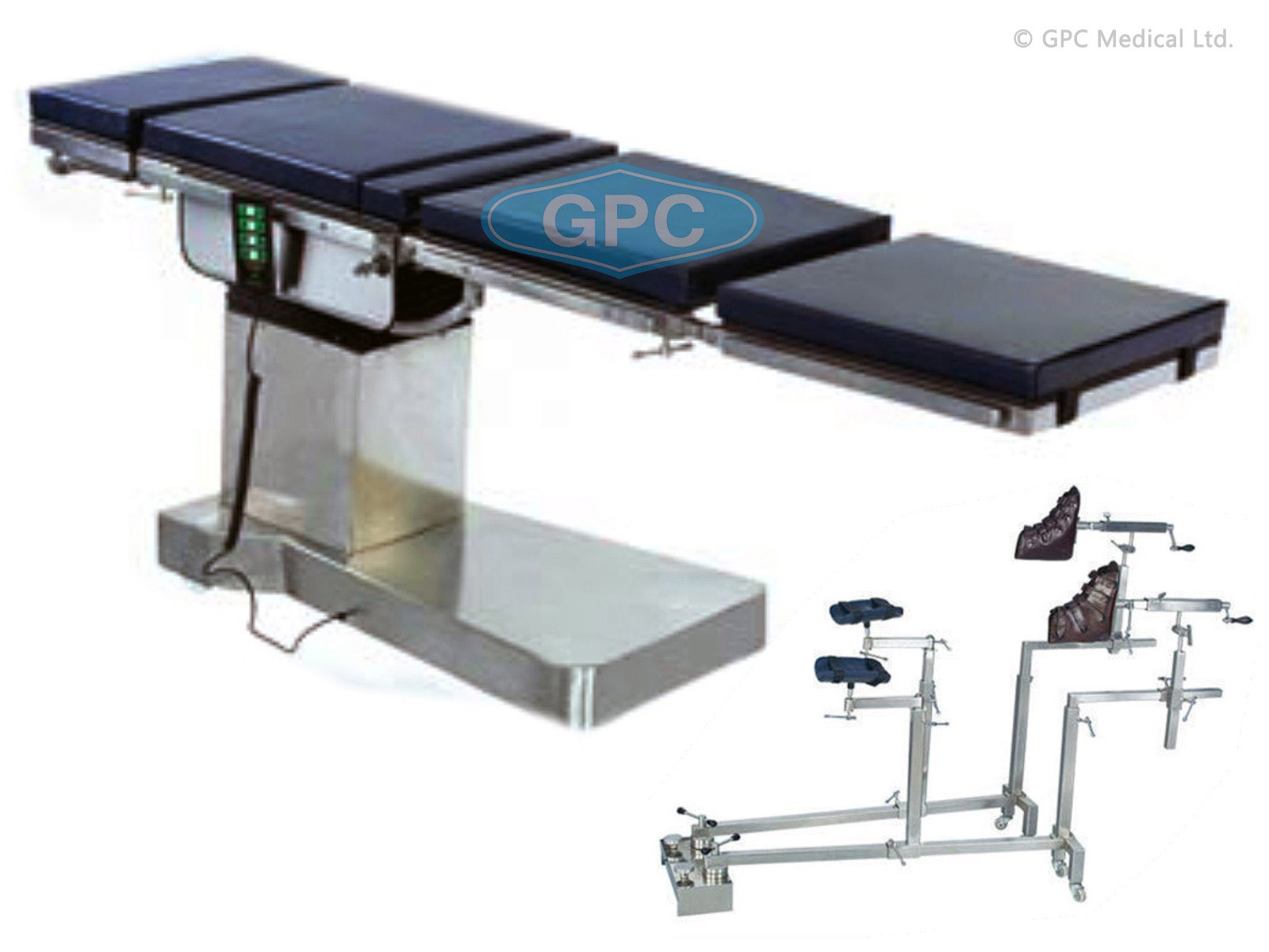 Electric C-Arm Table – 4 Function