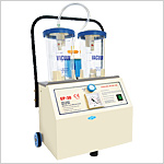 Electric/Manual Operated Suction Unit