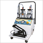 Electric cum Foot Suction Unit