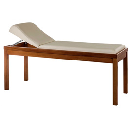 Examination Couch - Wooden