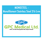GPCMONOSTEEL - Monofilament Stainless Steel 316 Lvm