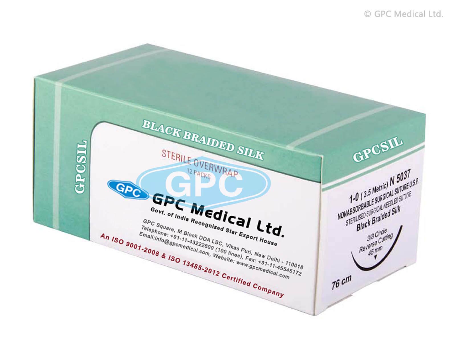 GPCSIL - Black Braided Silk