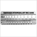 Gauge for Kuntscher Nails