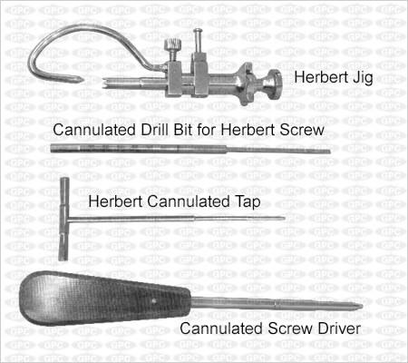 Herbert Screw Instrument Set