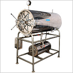 Horizontal Cylindrical Autoclaves - Double Wall
