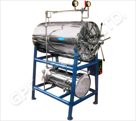 Horizontal Cylindrical Autoclaves - Triple Wall Door