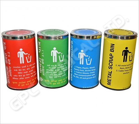 Hospital Colour Coded Waste Bins
