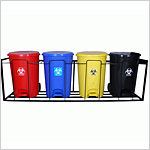 Hospital Dustbins with Frame