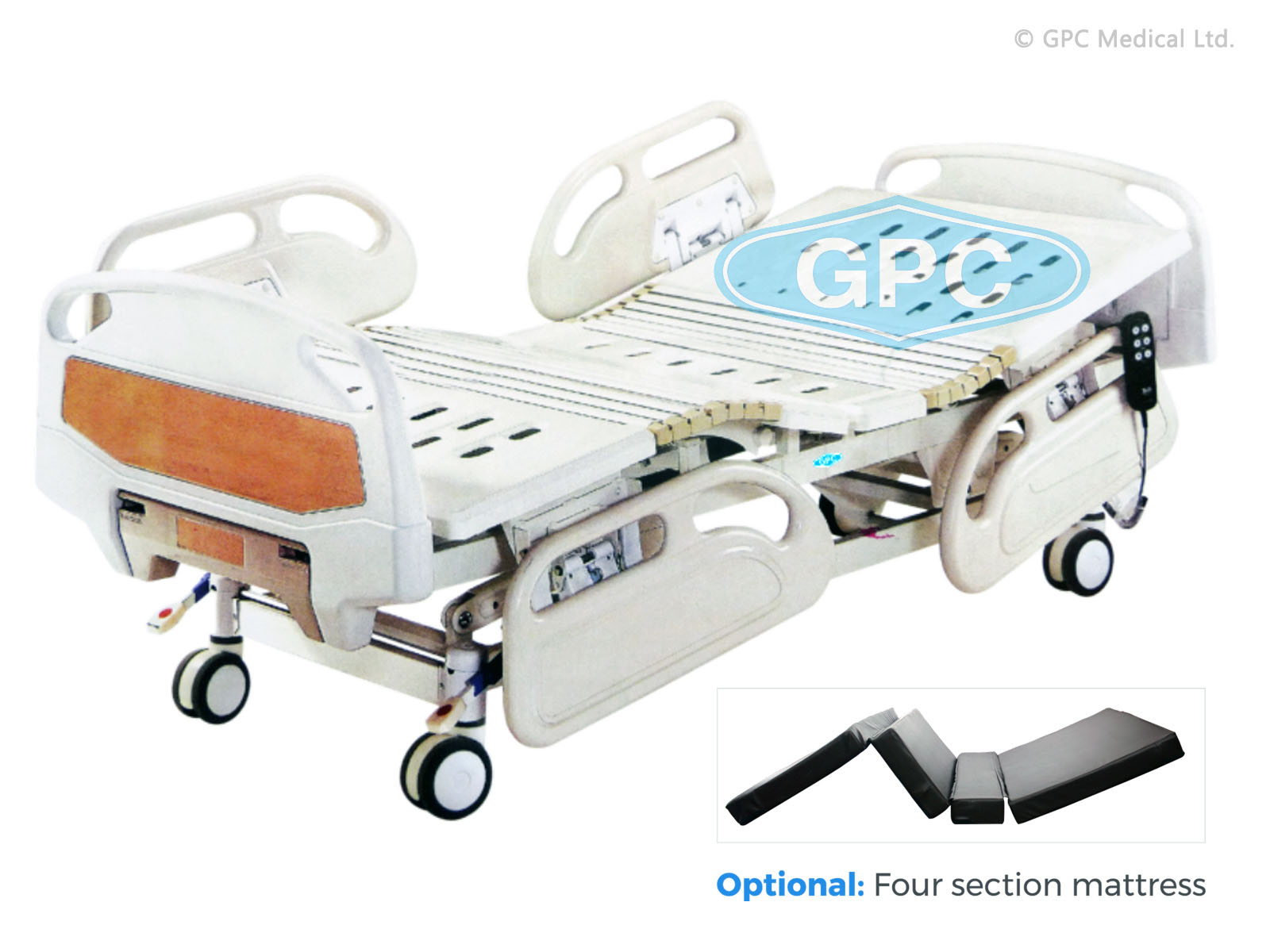 Hydraulic Bed with Five Functions
