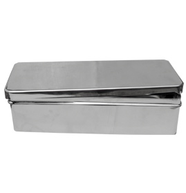 Instrument Boxes with cover, Stainless Steel