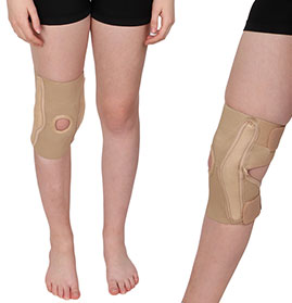 Elastic Knee Support (Hinged) - Deluxe