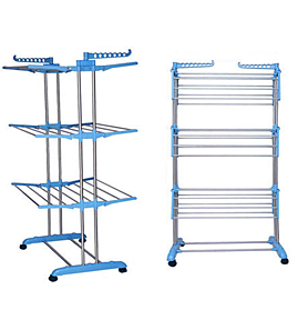 Linen Drying Trolley - Stainless Steel
