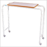 Overbed Table (Patient Food Trolley)