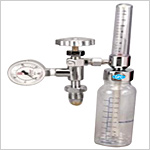Oxygen FA Valve with Rotameter with Humidifier