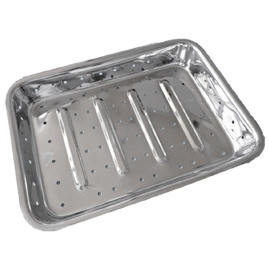 Perforated Instrument tray without cover