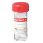 Plain Vials (Red Caps)