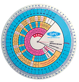 Pregnancy Calculator/Gestational Wheel