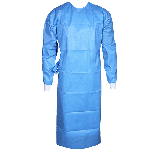 Reinforced surgeon's gown