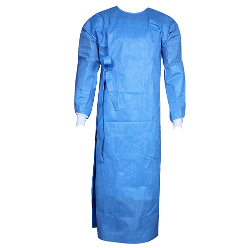 Reinforced wrapround Gown