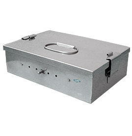 Sterilizing Boxes, Stainless Steel