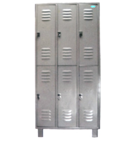 Surgeon Lockers – Six Compartments