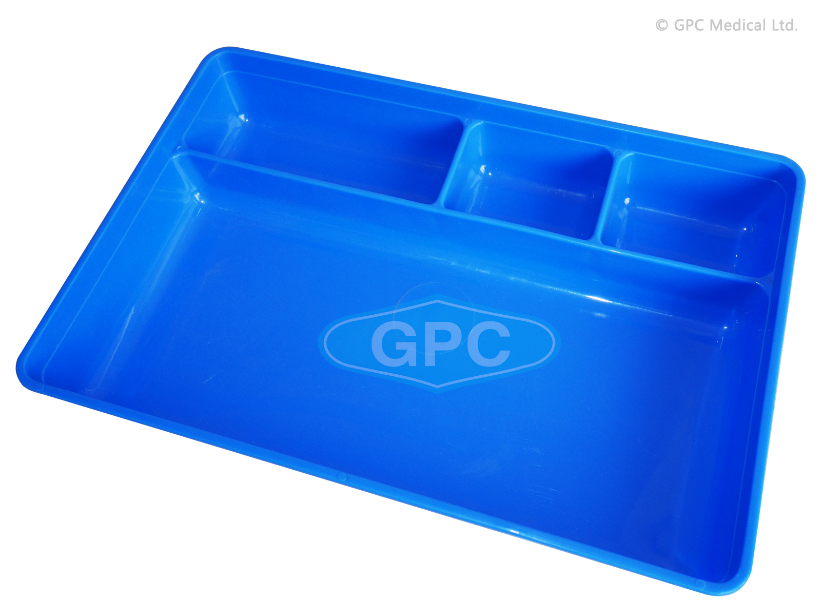 Tray - 4 Compartment PP Autoclaveable