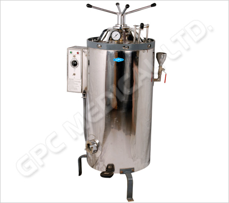 Vertical Autoclaves for Laboratory (Double Wall)