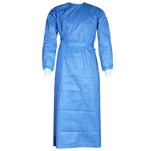 Wraparound surgeon's gown
