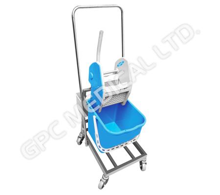 Wringer Trolley - 1 Bin