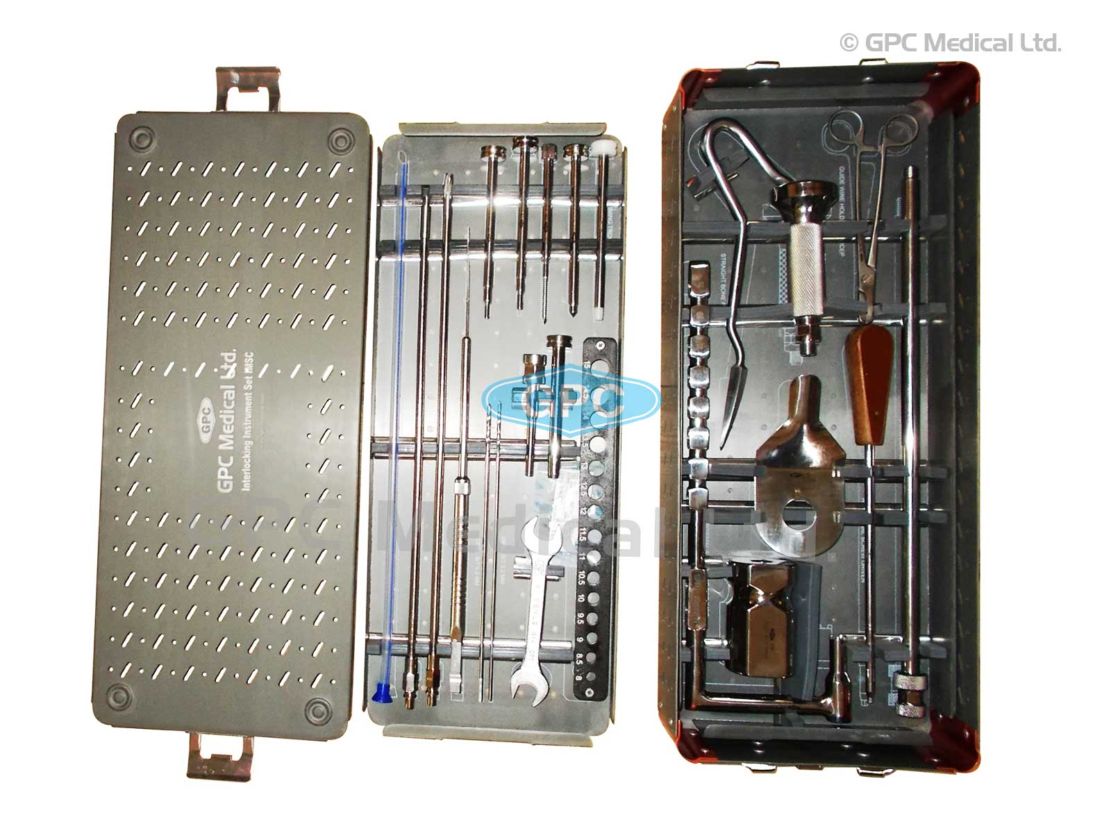 Interlocking Nail Instrument Set for IMSC